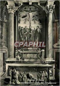 Moderne Karte Certosa di Pavia La Crocifissione-Pala del Bergognone