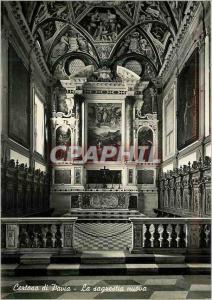 Moderne Karte Certosa di Pavia La Sagrestia Nuova