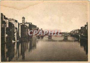 Moderne Karte Firenze Una Veduta dell Arno