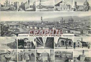 Moderne Karte Firenze Ricordo di Firenze Panorama