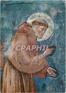 Moderne Karte Assisi Basilica Superiore di S. Francesco