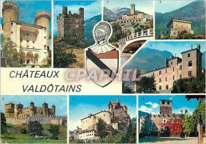 Moderne Karte Chateaux Valdotains