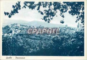 Moderne Karte Spello Perugia - Panorama