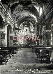 Moderne Karte Valgrana (Cuneo) m040 Interno Chiesa Parrocchiale
