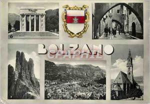 Moderne Karte Bolzano Monumento Alla Vittoria Via Carrettai Le Torri del Vajolet Panorama Visto dal Virgolo Ch