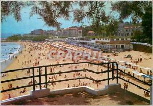 Moderne Karte Santander un coin de la plage