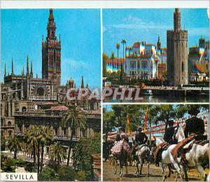 Moderne Karte Sevilla beautes de la ville