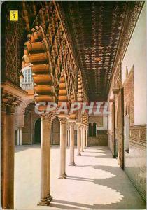 Moderne Karte Sevilla reales alcazares de Sevilla galerie du cour des pucelles