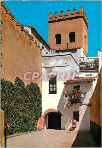 Moderne Karte Sevilla quartier de la sainte croix ruelle de la juiverie