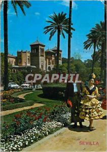 Moderne Karte Sevilla place de america