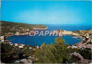 Moderne Karte Mallorca puerto de soller vue generale