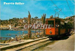 Moderne Karte Mallorca (baleares) espana soller del puerto Train Tramway