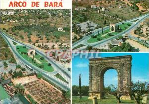 Moderne Karte Tarragona (Costa Dorada) Plusieurs detail du Arc de Bara