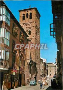 Moderne Karte Toledo Tour de Saint Tome