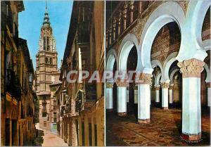 Moderne Karte Toledo Rue de Santa Isabl et Santa Maria la Blanche
