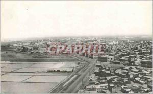 Moderne Karte Djibouti Panorama de la ville et des salines