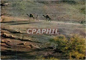 Moderne Karte Somalia Depart de caravane
