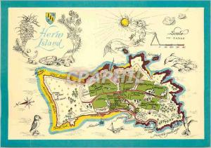 Moderne Karte Herm Island