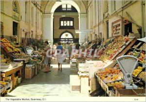 Moderne Karte Guernsey The Vegetable Market