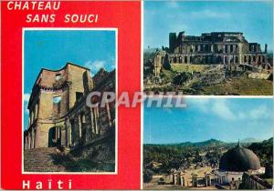 Moderne Karte Haiti Chateau sans souci