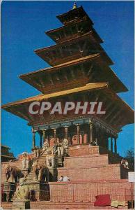 Moderne Karte Nyalapola temple bhaktapur