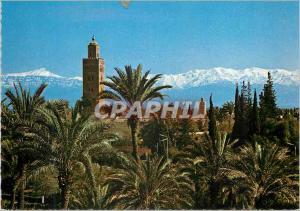 Moderne Karte Marrakech koutoubia grand atlas