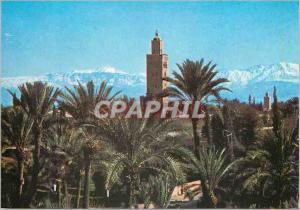 Moderne Karte Marrakech Koutoubla Grand Atlas