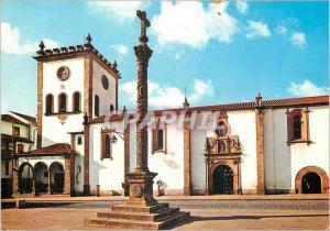 Moderne Karte Portugal Braganca Eglise