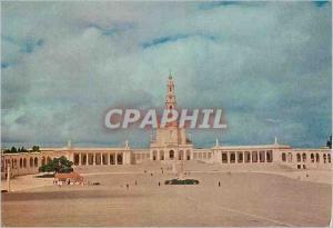 Moderne Karte Portugal Fatima Sanctuaire (Chapelle et Basilique)
