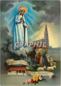Moderne Karte Portugal Fatima Apparition