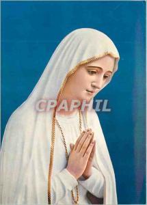 Moderne Karte Portugal Fatima Notre Dame