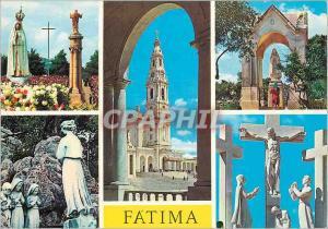Moderne Karte Portugal Fatima