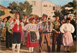 Moderne Karte Portugal Folklore du Ribatejo