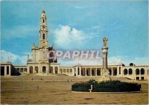 Moderne Karte Portugal Fatima Eglise a Notre Dame de Fatima