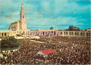 Moderne Karte Portugal Fatima Jour de pelerinage