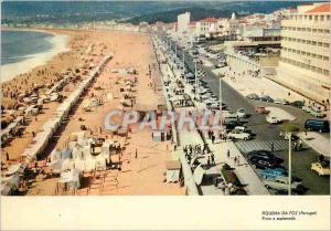 Moderne Karte Portugal Figueira da Foz Praia e esplanado