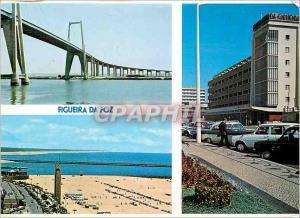 Moderne Karte Portugal Figueira da Foz