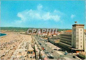 Moderne Karte Portugal Figueira da Foz Avenue Dr Oliveira Salazar Plage et Grand Hotel