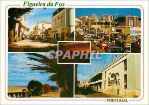 Moderne Karte Portugal Figueira da Foz Details de la ville