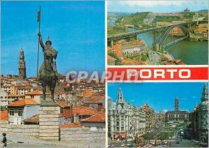 Moderne Karte Porto portugal