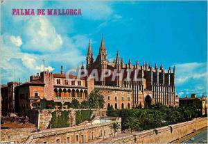 Moderne Karte N 133 palma de mallorca catedral y palacio de la almudaina