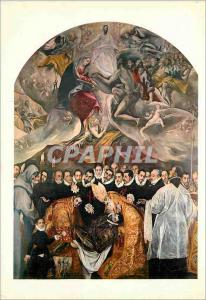 Moderne Karte 7 toledo saint tome l enterrement du compte d orgaz(greco)