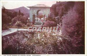 Moderne Karte The italian gardens on garnish island glengarriff