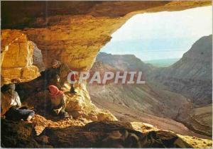 Moderne Karte Judean desert the cave at nachal zelim where the bar kochba letters were found