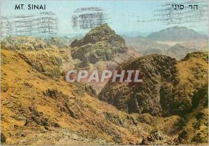 Moderne Karte Mt Sinai