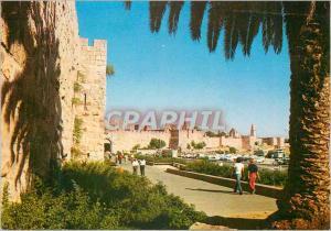 Moderne Karte Jerusalem Porte de Jaffa