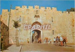 Moderne Karte Jerusalem La Porte de St Etienne