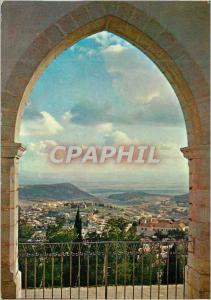 Moderne Karte Nazareth Vue Partielle