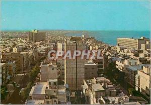 Moderne Karte Tel Aviv General view towards Jaffa