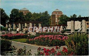 Moderne Karte Canada Montreal Jardin  Botanique